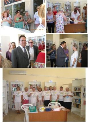 Paphiakos Book Exchange official opening