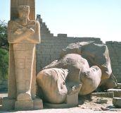 Ramesseum, West Bank, Luxor, Egypt