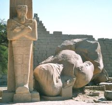 Ramesseum, West Bank, Luxor, Egypt