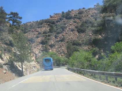 Into the land of the Troodos Ophiolite sequence. Cyprus geology at its' best!