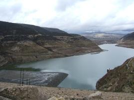 Cyprus - Kouris Dam, Limassol January 2008