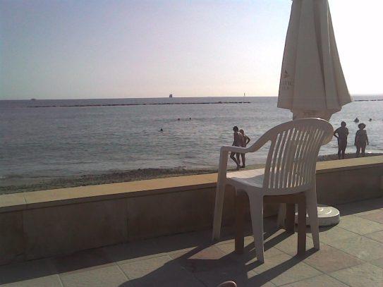 Miramare Hotel beachfront 11 November 2009