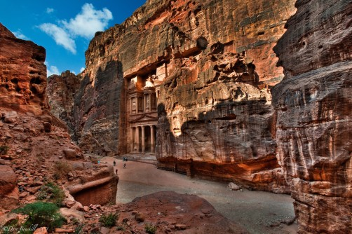 The Red Rose City of Petra, Jordan. We want to go too!