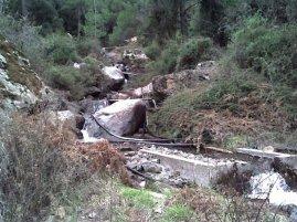 Ay Nikolaos waterfall