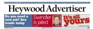 Our old weekly rag - the Heywood Advertiser