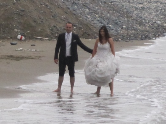 Wedding at Curium Beach