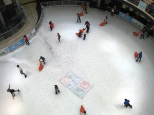 My Mall ice-rink