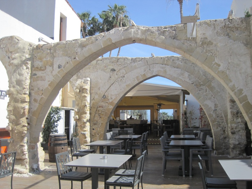 Restaurant conversion. Great archways!