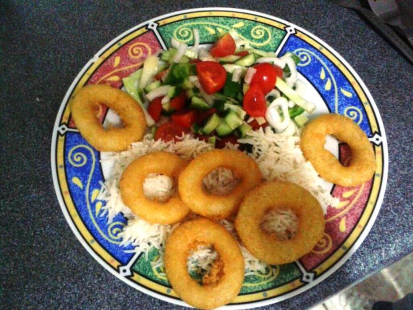 Clem's Calamari Salad