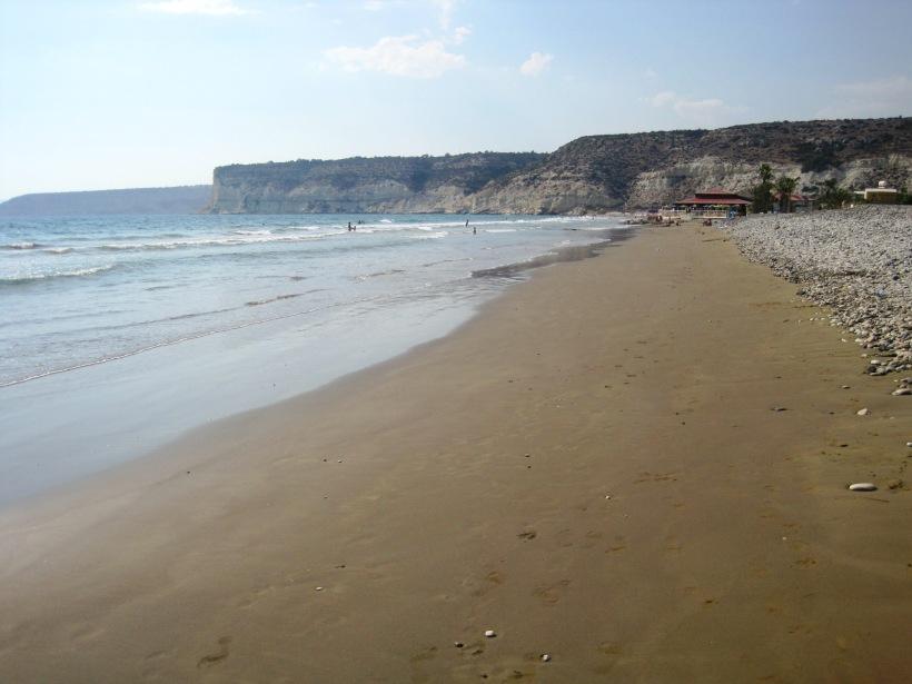 Curium beach, Episkopi, Cyprus