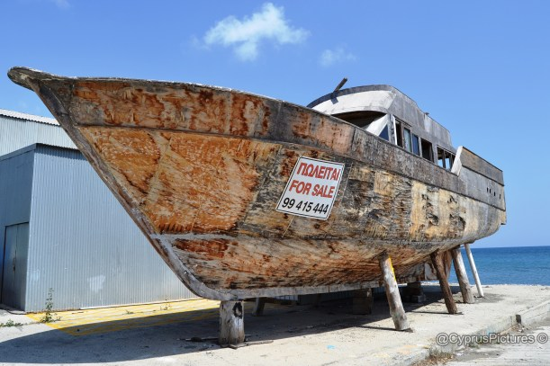 Wooden boat for sale