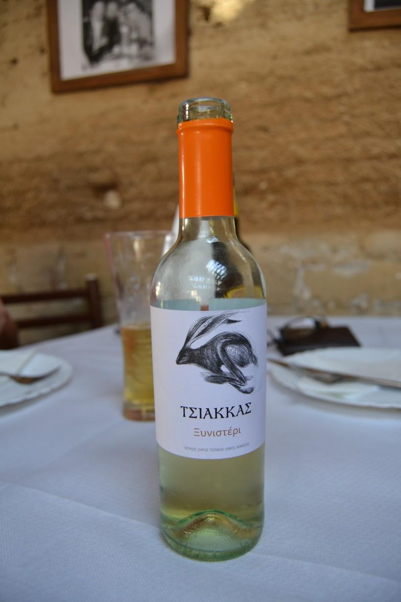 Tsiakkas wine - half bottle