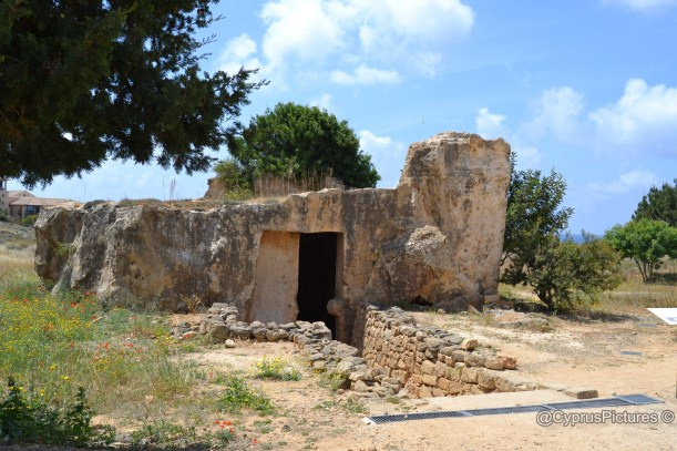 Tombs of the Kings, Paphos, Cyprus. UNESCO Heritage Site